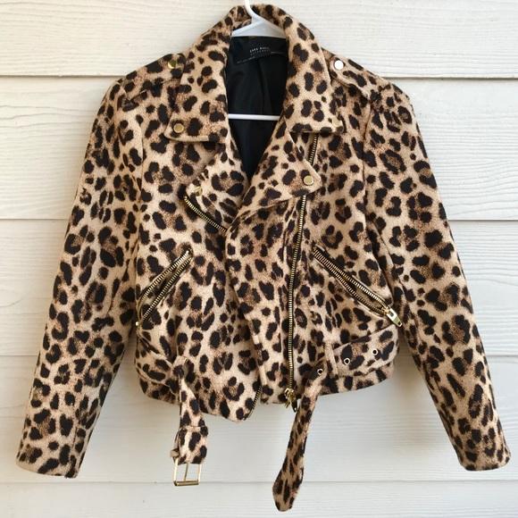 feb462ae Zara Jackets & Coats | Cheetah Print Jacket In Size Small | Poshmark